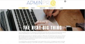 Website Design AdminPro