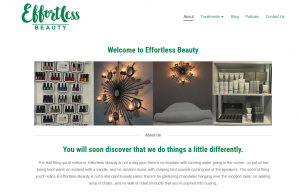 Website Design Effortless Beauty
