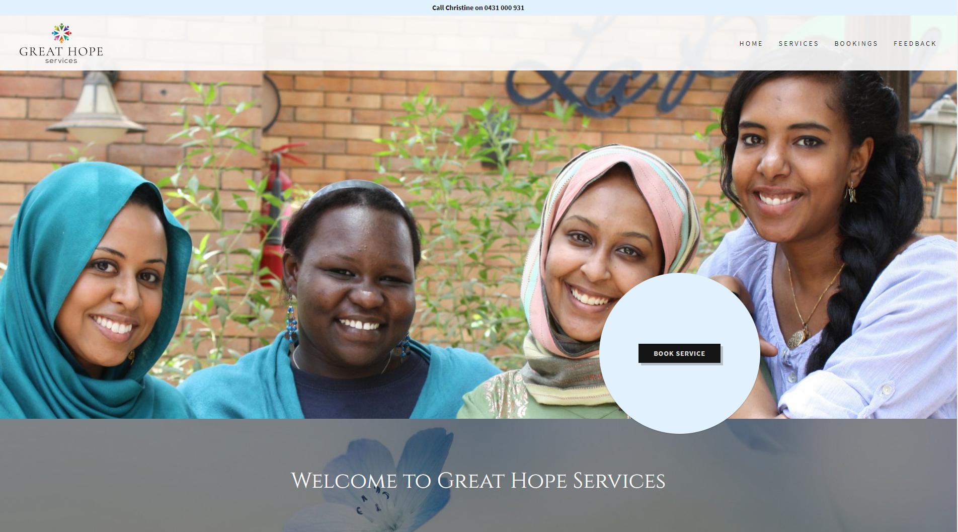 Website Design Great Hope Services
