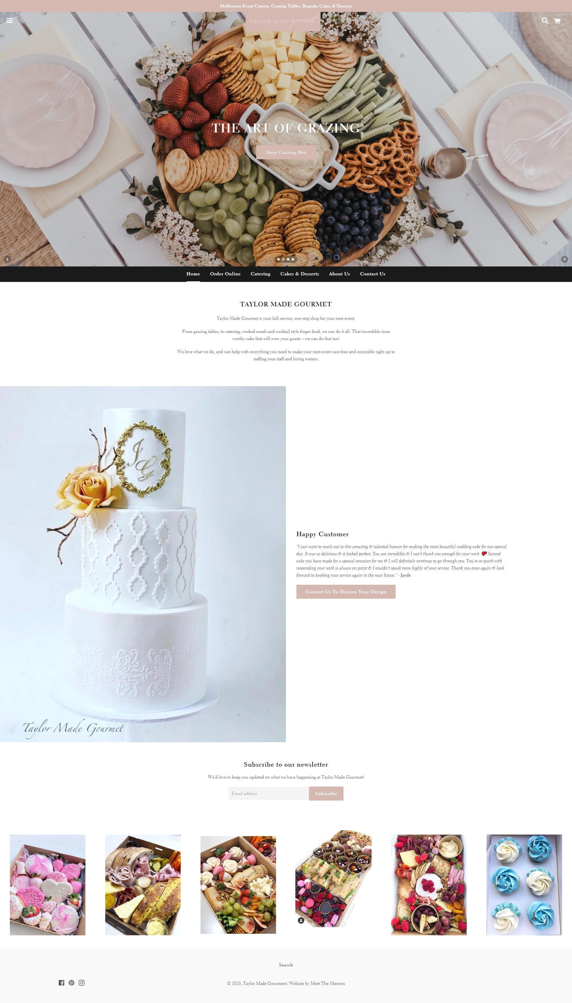 Website Design Taylor Made